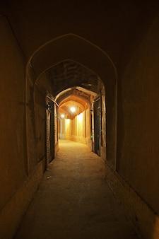 A antiga cidade de kashan irã