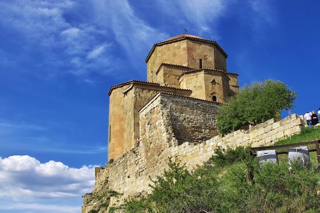 A antiga igreja em jvari, geórgia