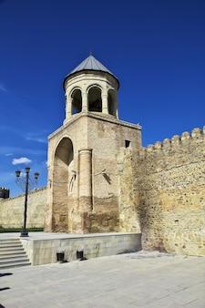 A antiga igreja na cidade de mtskheta da geórgia