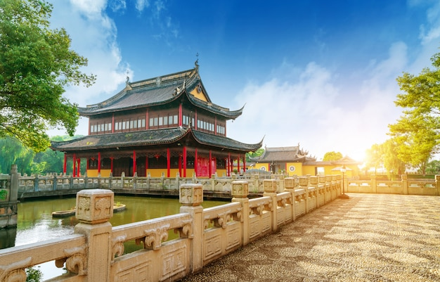 A arquitetura antiga chinesa