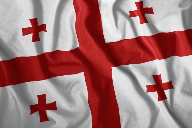 A bandeira da geórgia