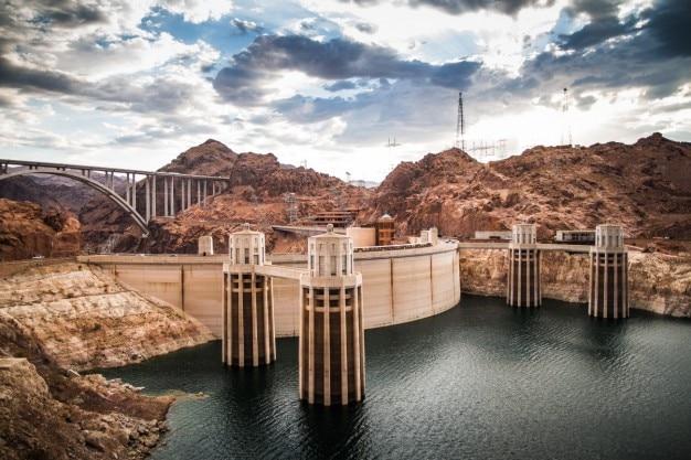 A barragem