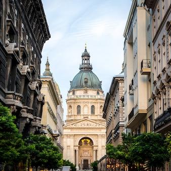 A basílica de st stephen, uma basílica católica romana em budapest, hungria.
