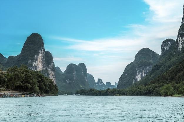 A bela paisagem de guilin, china