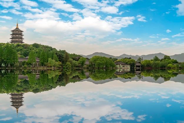 A bela paisagem do lago oeste em hangzhou