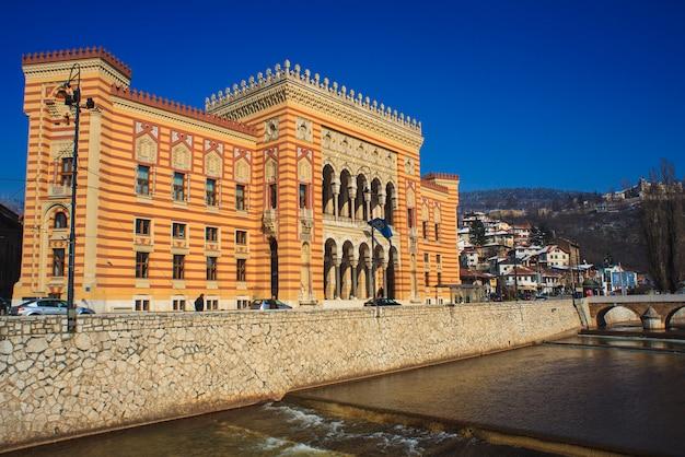 A biblioteca nacional e universitária da bósnia e herzegovina