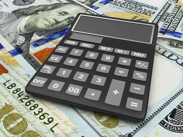 A calculadora está nas notas de dólar
