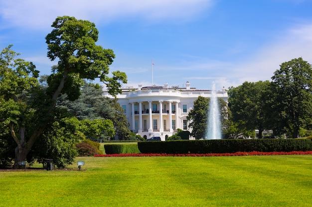 A, casa branca, em, cc washington, eua