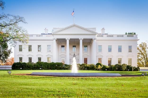 A casa branca em washington dc