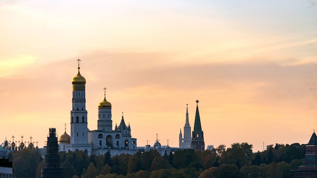 A catedral do arcanjo. fora do kremlin. moscou.