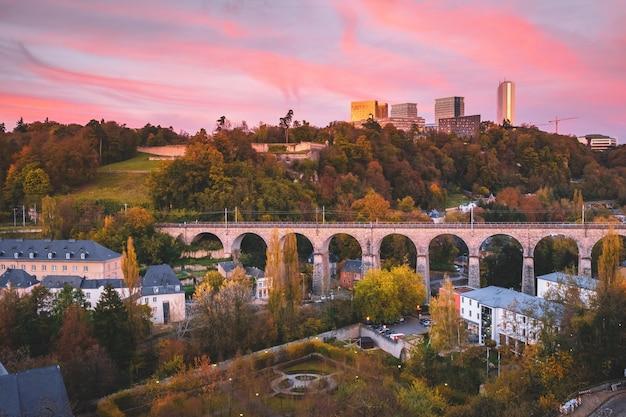A, cidade, de, luxemburgo
