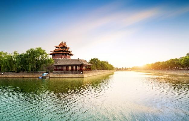 A cidade proibida em pequim, china