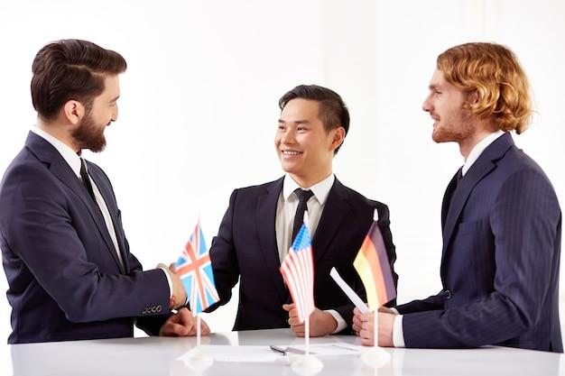 A colaboração entre empresas