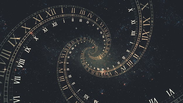 A composição do espaço de tempo