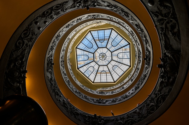 A cúpula no museu do vaticano