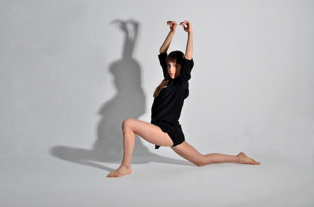 A dançarina dança contemporânea