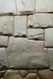 A, doze-angled, pedra, de, a, antiga, inca, parede, ligado, hatun, rumiyoc, rua, em, cusco, de, peru