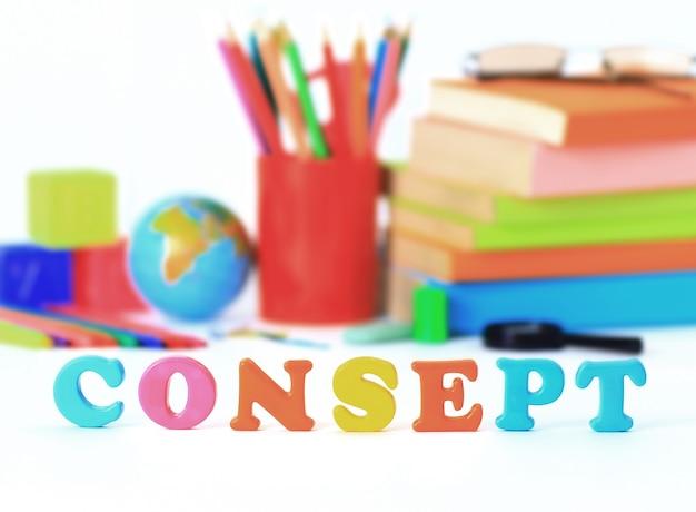 A escola fornece o conceito de palavra-chave