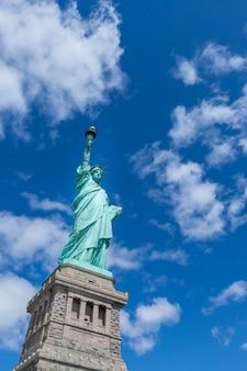 A, estátua liberdade, cidade nova iorque, eua