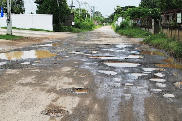 A estrada nos poços