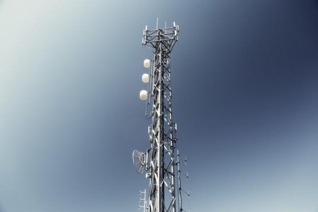 A estrutura da antena