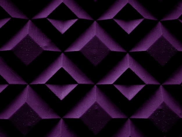 A estrutura dos losangos roxos