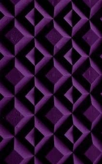 A estrutura dos losangos roxos Foto Premium