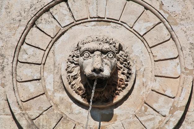 A fonte na cidade de belgrado, sérvia