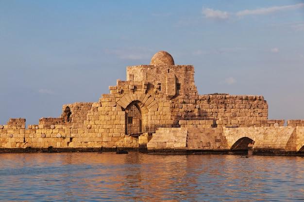 A fortaleza em sidon (sayda), líbano