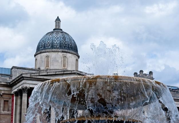 A galeria nacional em trafalgar square, london