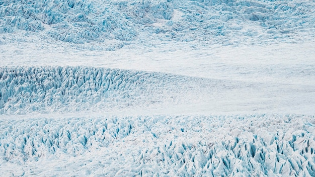 A geleira fjallsjökull na islândia