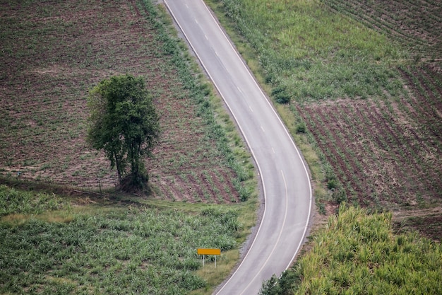 A great open road na tailândia