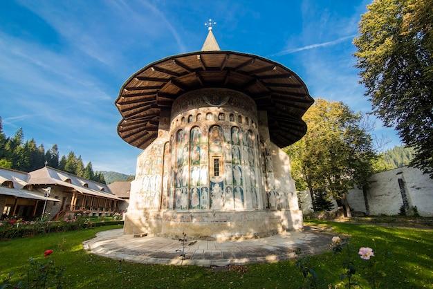 A igreja do mosteiro sucevita na bucovina romênia