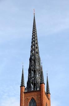 A igreja em estocolmo, suécia