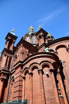 A igreja em helsinque, finlândia