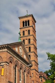 A igreja na cidade de nova york, estados unidos