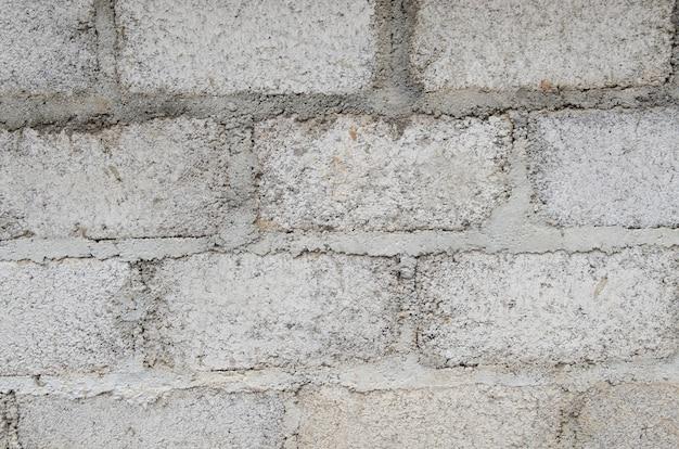 A imagem de fundo da velha parede de tijolos