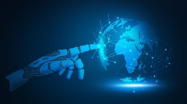 A inteligência artificial impulsiona grandes volumes de dados, informações globais