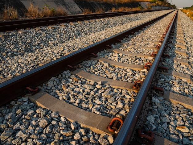 A longa ferrovia