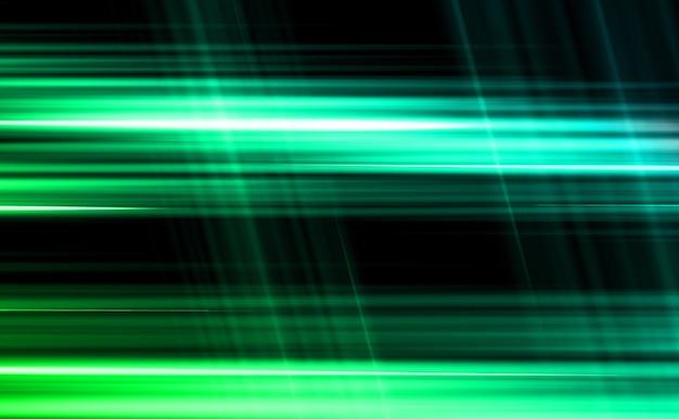 A luz do flash brilha a luz rastreia a aceleração da luz