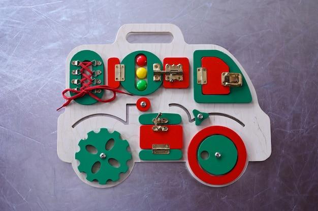 A máquina de desenvolvimento para a criança