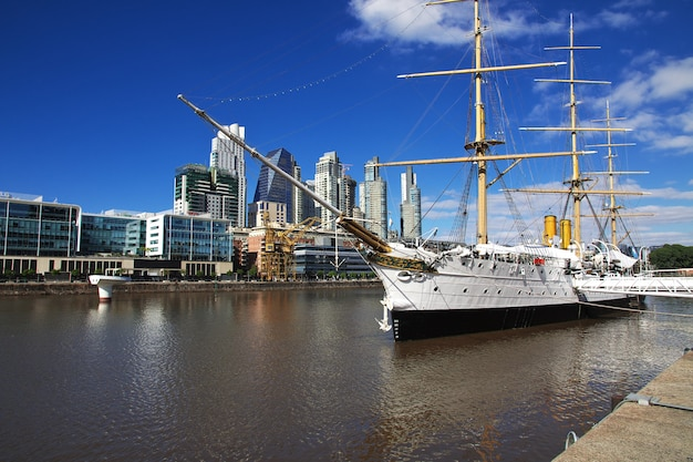 A marina em buenos aires, argentina