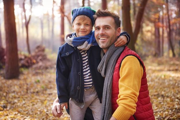 A melhor amizade é entre pai e filho