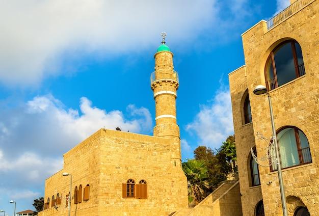 A mesquita al-bahr em tel aviv-jaffa - israel