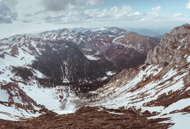 A montanha de neve de shangri-la, china