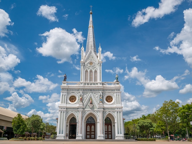 A, natividade, de, nosso, senhora, catedral, em, samut, songkhram, em, tailandia