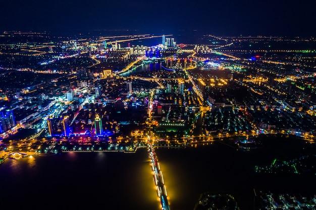 A noite da cidade de china