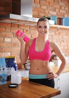 A nutrição esportiva pode ajudá-lo a manter a forma