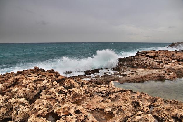 A parede em batroun, líbano