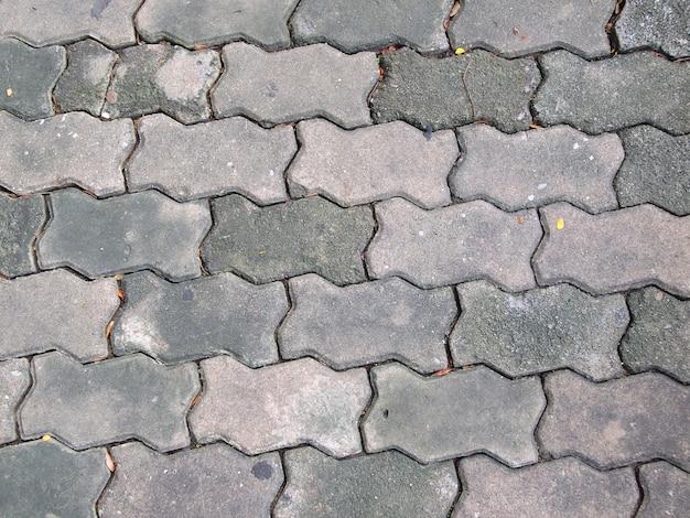 A passarela de tijolo